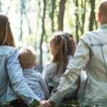 Far, mor og børn …